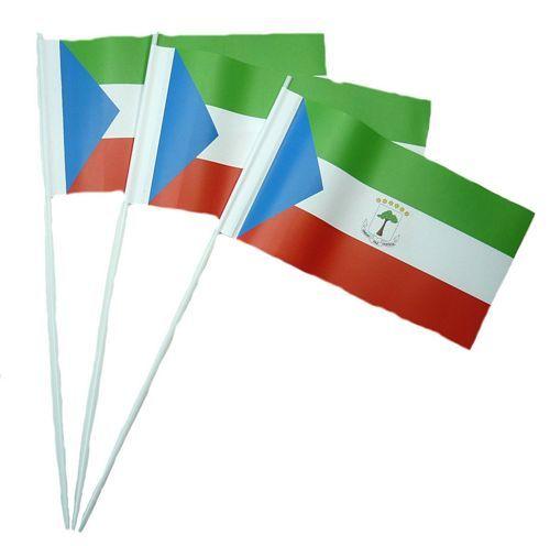 Papierfahnen Äquatorialguinea