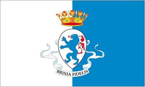 Fahne / Flagge Italien - Brescia 90 x 150 cm