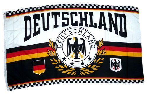 Fahne / Flagge Deutschland 4 Sterne Lorbeer 90 x 150 cm