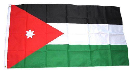 Flagge / Fahne Jordanien Hissflagge 90 x 150 cm