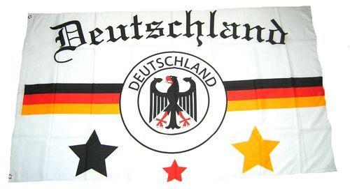Fahne / Flagge Deutschland Fußball 2 90 x 150 cm