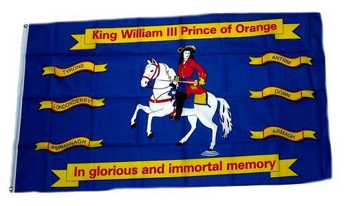 Fahne / Flagge King William of Orange 90 x 150 cm