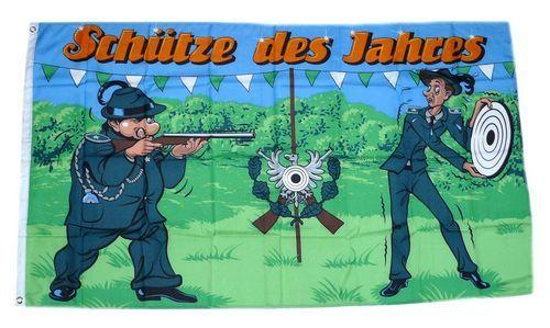 Fahne / Flagge Schütze des Jahres 90 x 150 cm
