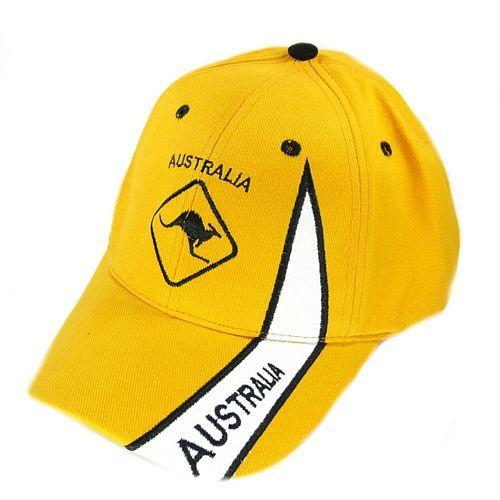 Basecap Australien Känguruh