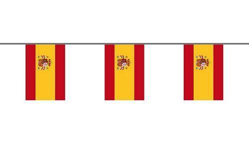 Flaggenkette Spanien 6 m