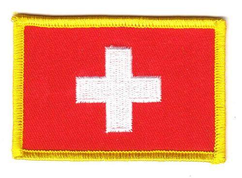 Fahnen Aufnäher Schweiz
