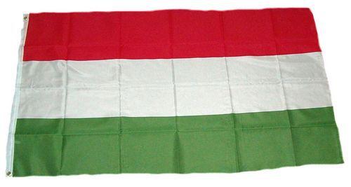 Flagge / Fahne Ungarn Hissflagge 90 x 150 cm
