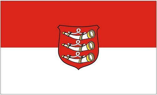 Fahne / Flagge Weißenhorn 90 x 150 cm