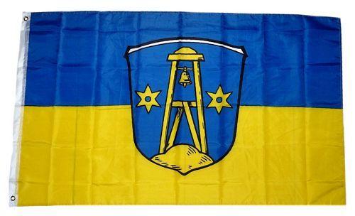 Flagge Fahne Insel Borkum Hissflagge 90 x 150 cm
