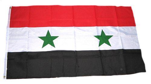 Flagge / Fahne Syrien Hissflagge 90 x 150 cm