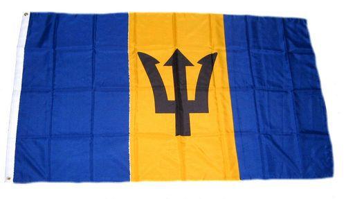 Flagge / Fahne Barbados Hissflagge 90 x 150 cm