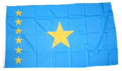 Fahne / Flagge Republik Kongo alt Zaire NEU 90 x 150 cm