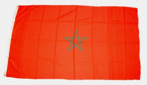 Flagge / Fahne Marokko Hissflagge 90 x 150 cm
