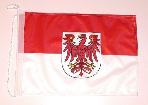 Bootsflagge Brandenburg 30 x 45 cm