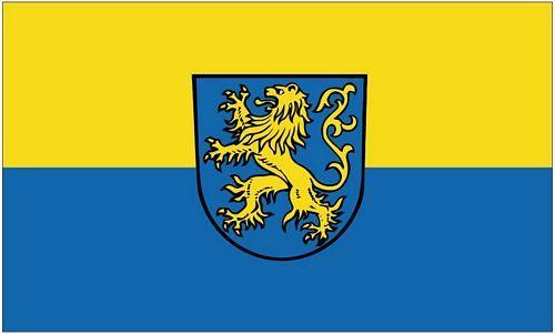 Fahne / Flagge Waldstetten Ostalbkreis 90 x 150 cm