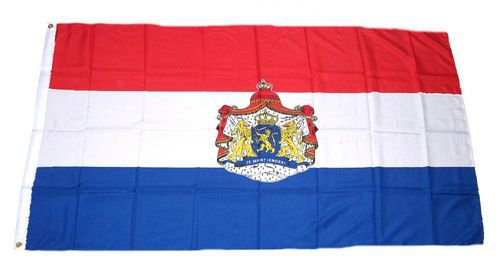 Flagge / Fahne Niederlande Wappen Hissflagge 90 x 150 cm