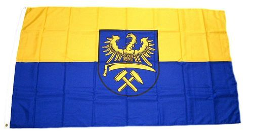 Fahne / Flagge Oberschlesien 150 x 250 cm