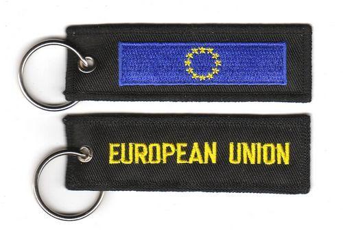 Fahnen Schlüsselanhänger Europa