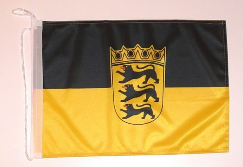 Bootsflagge Baden Württemberg 30 x 45 cm