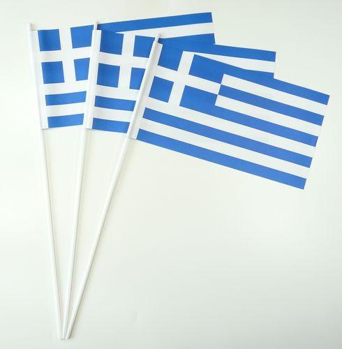Papierfahnen Griechenland
