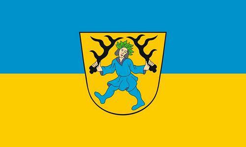 Flagge / Fahne Blaubeuren Hissflagge 90 x 150 cm