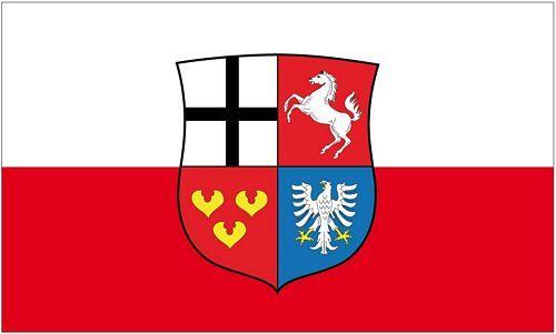 Fahne / Flagge Herzogtum Westfalen 90 x 150 cm