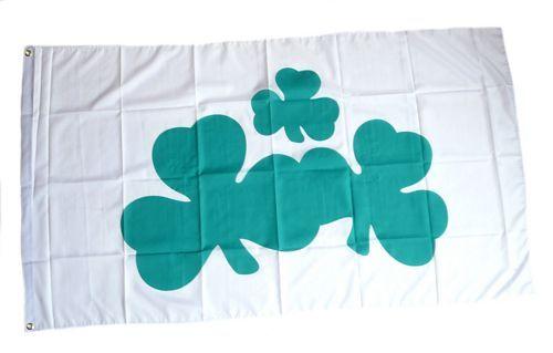 Fahne / Flagge Irland - Shamrock 90 x 150 cm