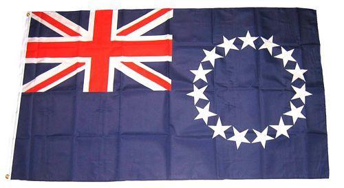 Flagge Fahne Cook Inseln 90 x 150 cm