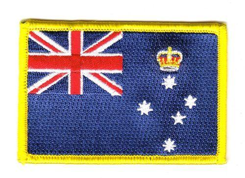 Fahnen Aufnäher Australien - Victoria