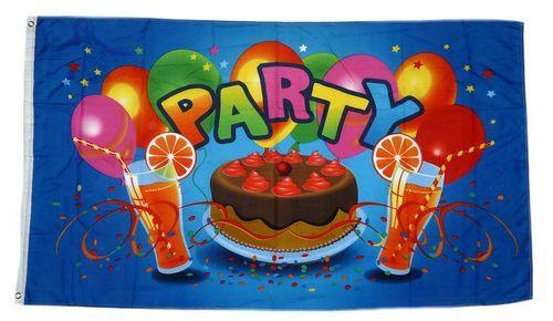 Fahne / Flagge Party Torte Fete 90 x 150 cm