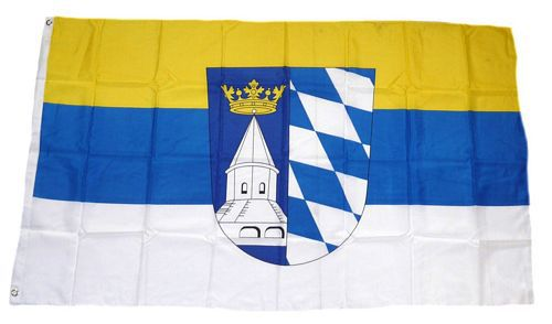 Flagge / Fahne Landkreis Altötting Hissflagge 90 x 150 cm