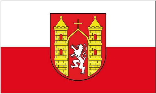 Fahne / Flagge Löbau 90 x 150 cm