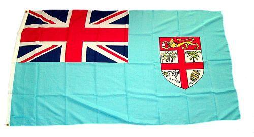 Flagge / Fahne Fidschi Hissflagge 90 x 150 cm