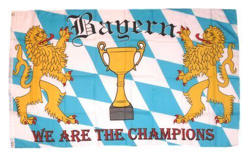 Fahne / Flagge Fußball Bayern 90 x 150 cm