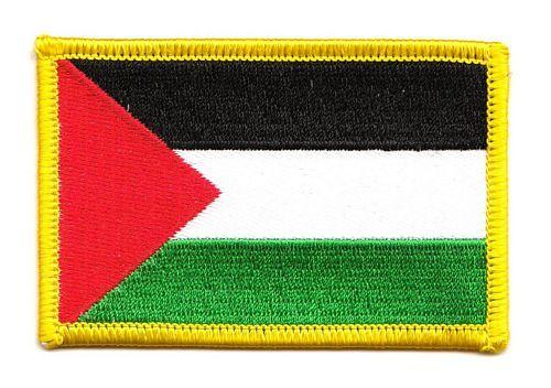 Flaggen Aufnäher Patch Libanon Schrift Fahne Flagge