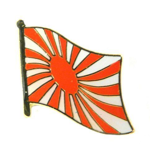 Flaggen Pin Fahne Japan Kriegsflagge NEU Anstecknadel