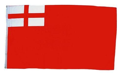 Fahne / Flagge Großbritannien -  Red Ensign 1620-1707 90 x 150 cm