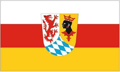 Fahne / Flagge Landkreis Garmisch Patenkirchen 90 x 150 cm
