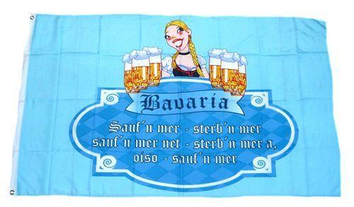 Fahne / Flagge Bavaria Bier 90 x 150 cm