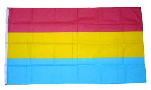 Fahne / Flagge Pansexuell 90 x 150 cm