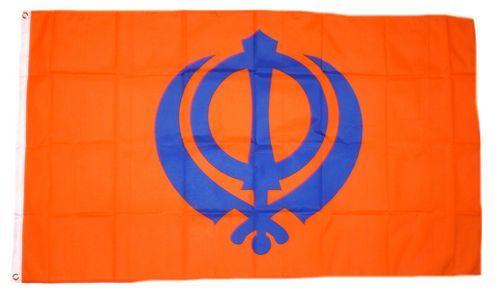 Fahne / Flagge Sikh 90 x 150 cm