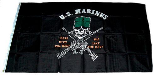 Fahne / Flagge US Marines 90 x 150 cm