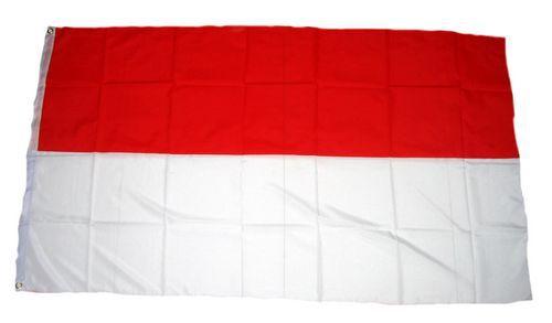 Flagge / Fahne Indonesien Hissflagge 90 x 150 cm
