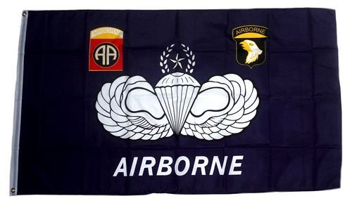 Fahne / Flagge US Airborne 90 x 150 cm