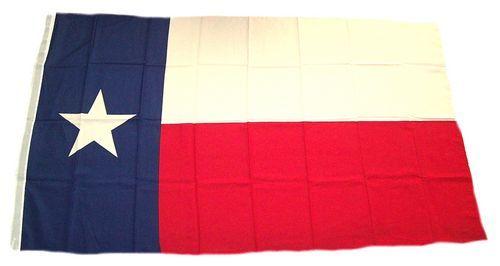 Fahne / Flagge USA - Texas 90 x 150 cm