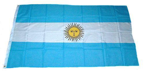 Flagge / Fahne Argentinien Hissflagge 90 x 150 cm