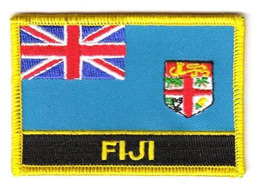 Aufnäher St Vincent Schrift Patch Flagge Fahne