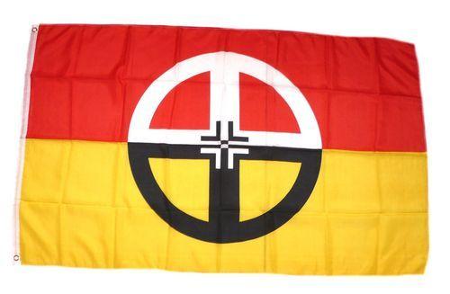 Fahne / Flagge Indianer - Healing 90 x 150 cm