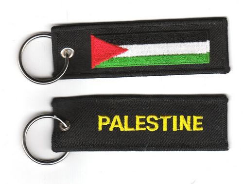 Fahnen Schlüsselanhänger Palästina