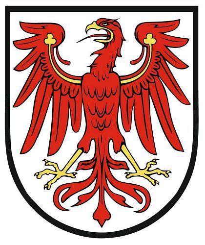 Wappenschild Aufkleber Sticker Brandenburg